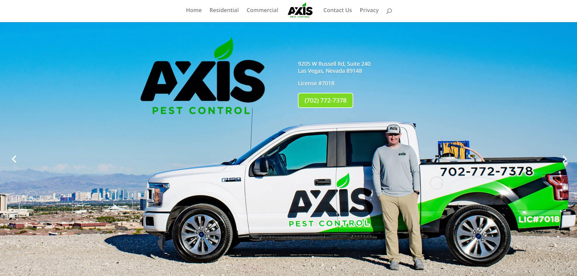 axis pest control